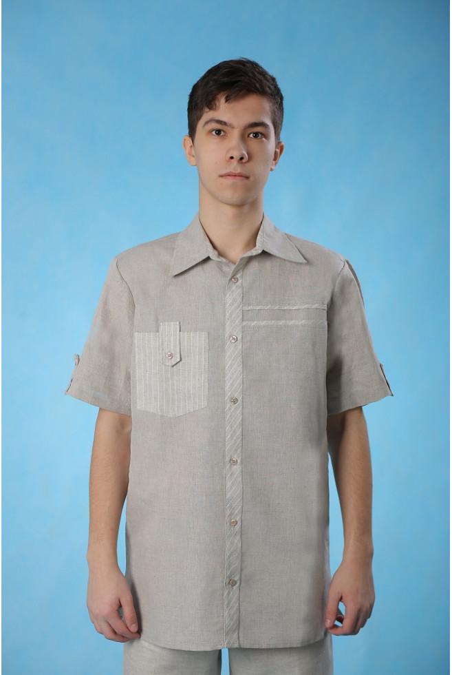 Сорочка комбинированная