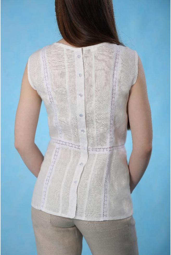 Блуза с застежкой на спинке