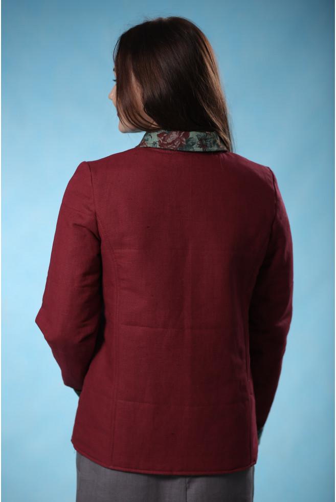 Куртка фуфайка с аппликацией