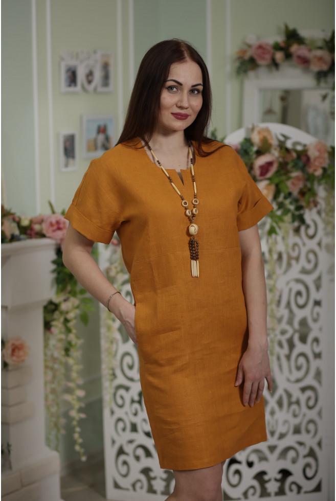 Платье с подкройными бочками