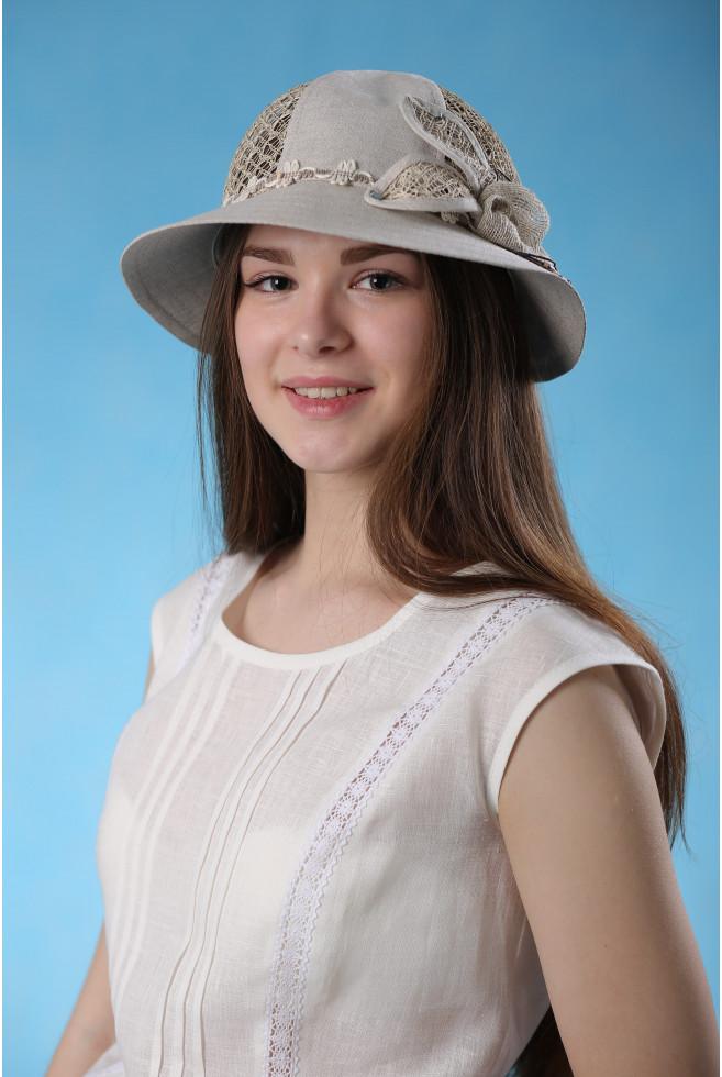 """Шляпа """"Паутинка"""""""